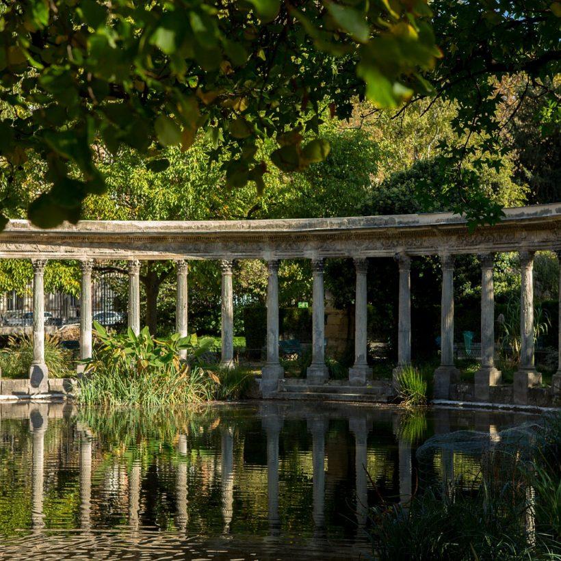 les colonnes du parc monceau
